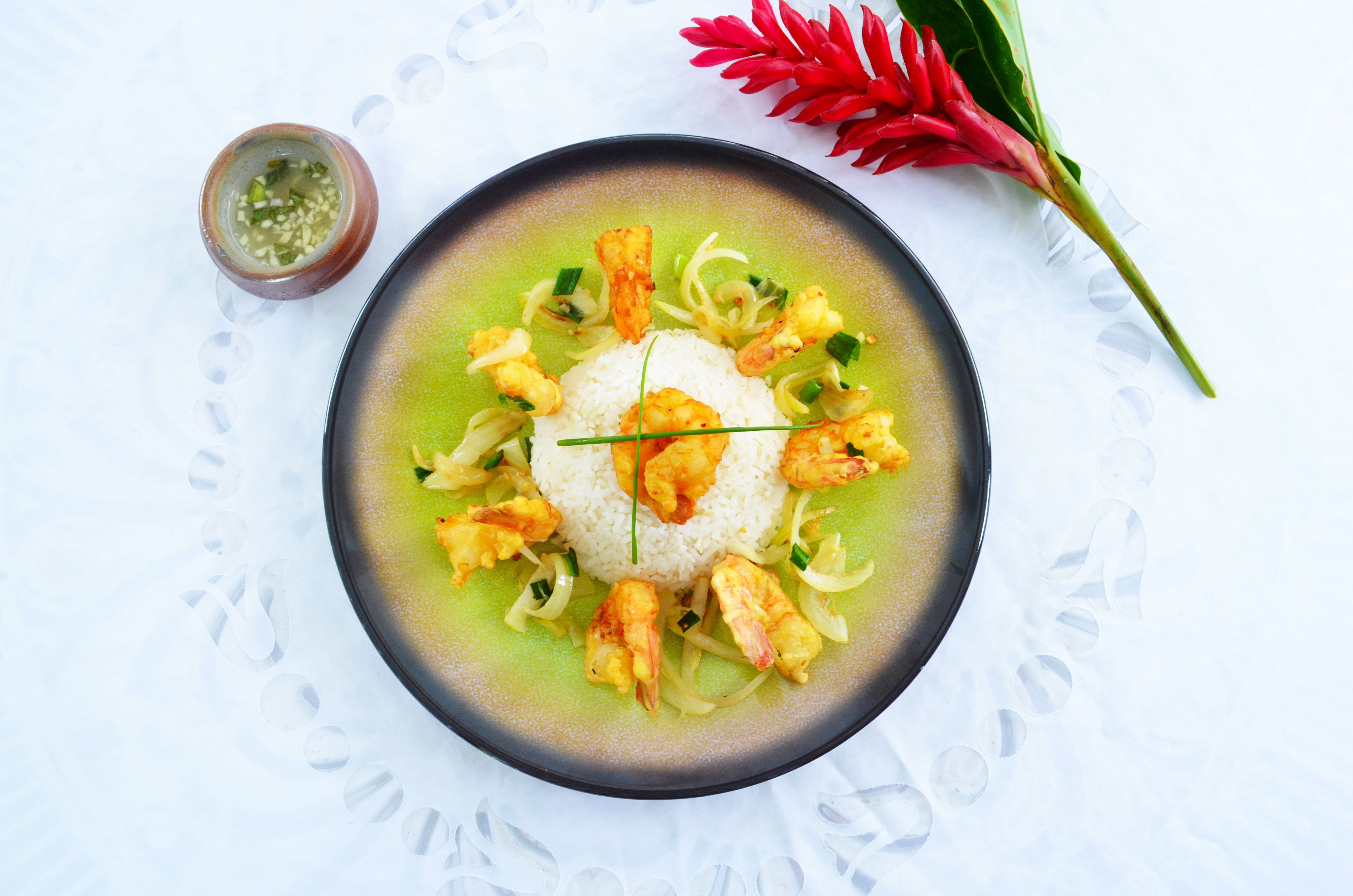Crevettes poivre&sel
