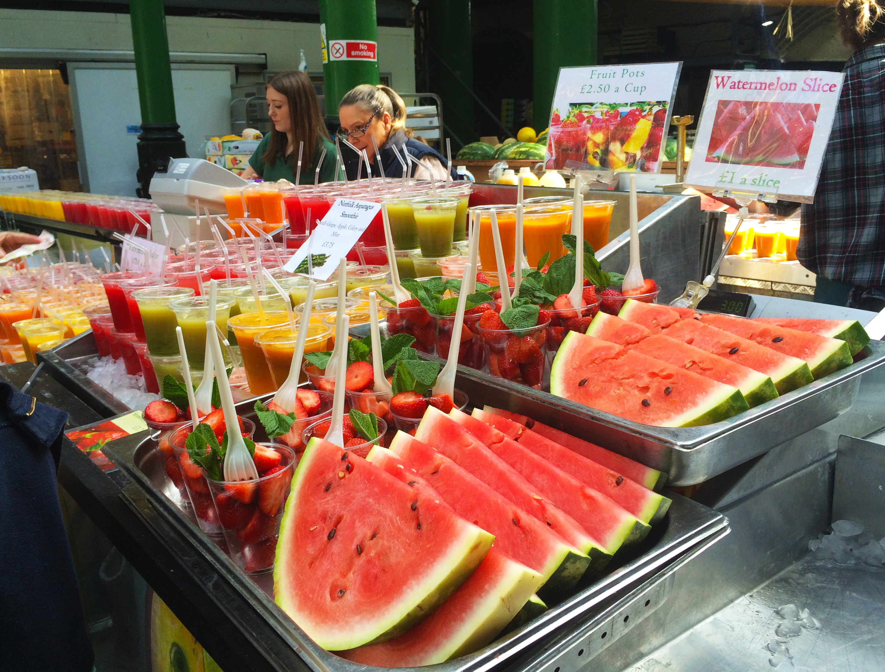 London calling paris d 39 pices for Stand de fruits ikea
