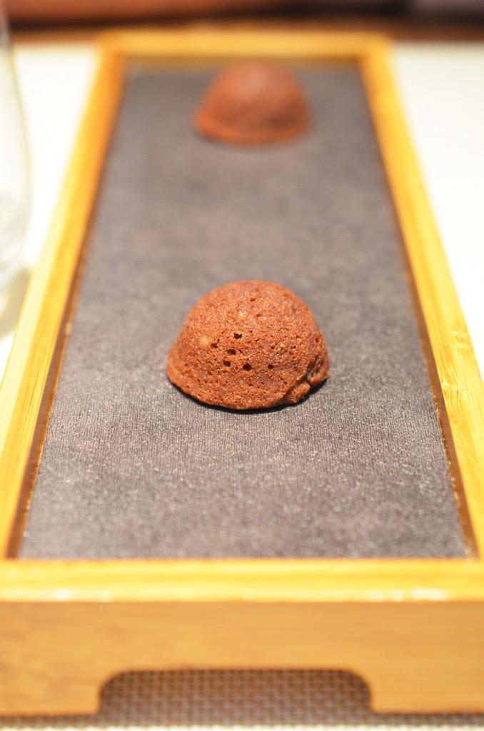 Migniardise chocolat et noisette