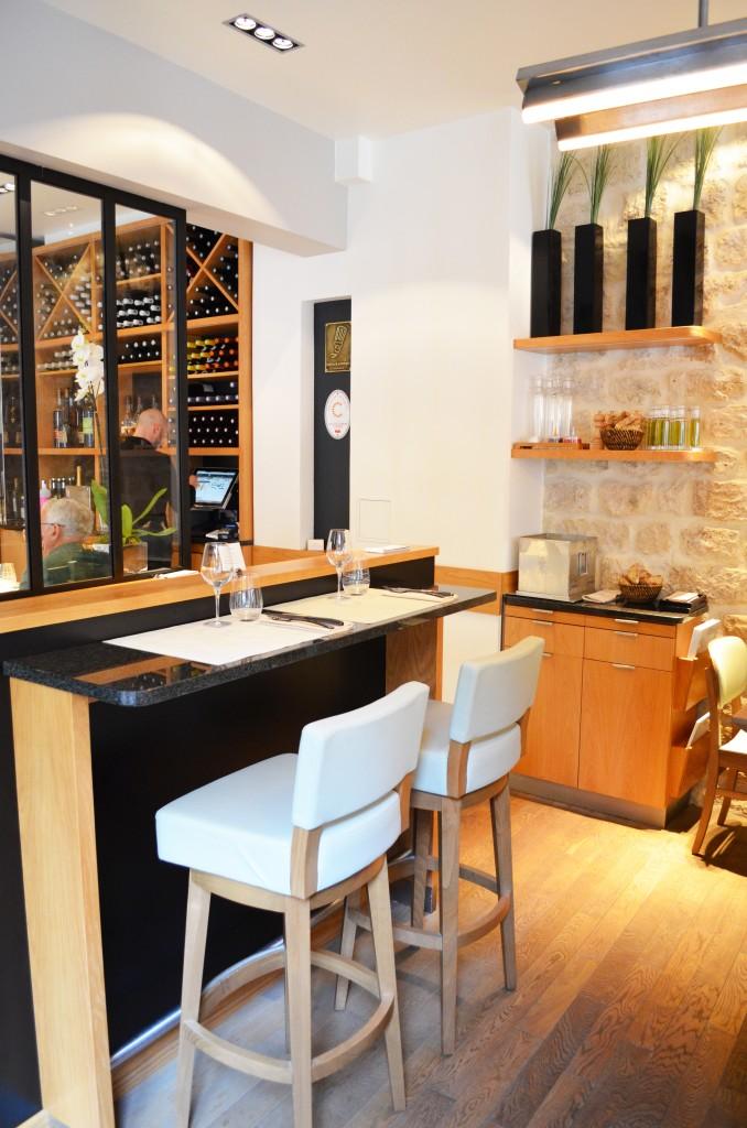Salle principal du restaurant Les Fables de la Fontaine