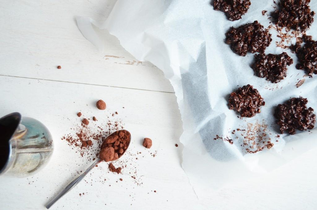 Roses des sables et cacao