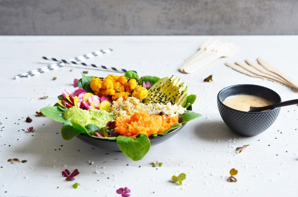 Buddha Bowl et sauce tahini 2