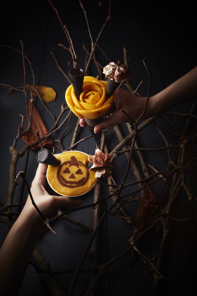 amorino_halloween_cornets_pots_ambiance