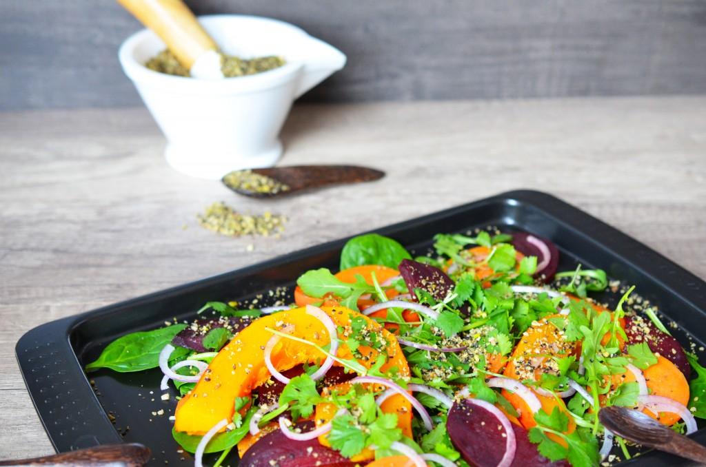 Salade de légumes d'automne au Vitaliseur