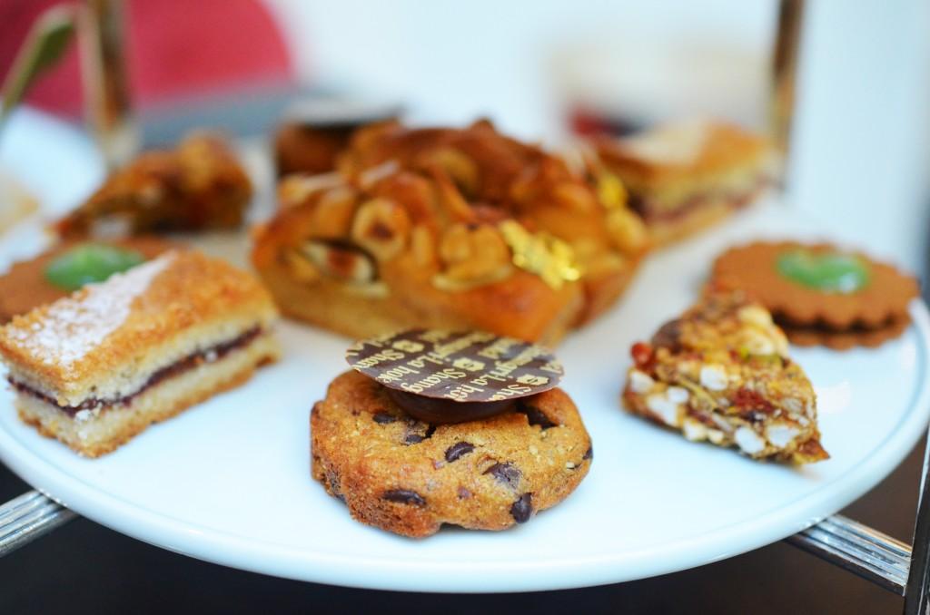 Assiette de biscuits