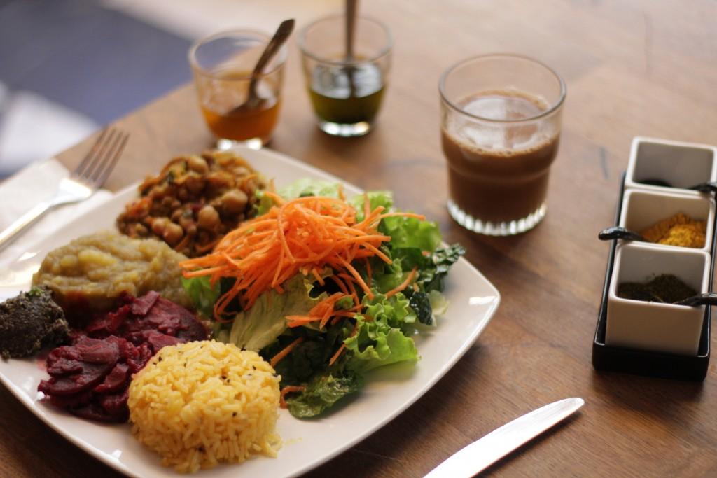 Assiette végétale Sol Semilla superaliments