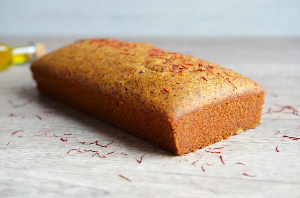 Gâteau moelleux à l'orange et au safran 2
